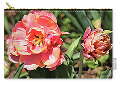 Spring Tulips Carry-all Pouch by Trina Ansel