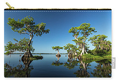 Spring Vistas At Lake Disston Carry-all Pouch