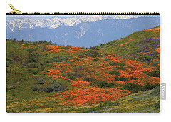 Spring Wildflower Display At Diamond Lake In California Carry-all Pouch