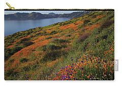 Spring Wildflower Season At Diamond Lake In California Carry-all Pouch