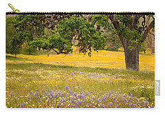 Spring Wildflowers Carry-all Pouch
