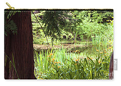 Spring Woodland Carry-all Pouch by Victoria Harrington