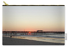 Springmaid Pier Sunrise Carry-all Pouch