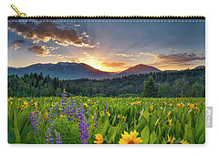 Spring's Delight Carry-all Pouch by Leland D Howard