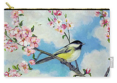 Carry-all Pouch featuring the painting Spring's Promise by Donna Tucker