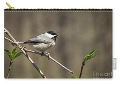 Springtime Chickadee Carry-all Pouch