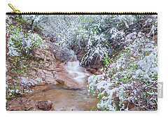 Springtime In The Colorado Rockies Implies Heavy, Slushy Snow, And Lots Of It. Carry-all Pouch