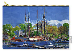 Springtime In The Harbor Carry-all Pouch