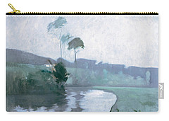 Springtime Carry-all Pouch by John Henry Twachtman