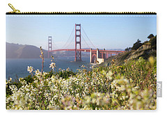 Carry-all Pouch featuring the photograph Springtime On The Bay by Everet Regal