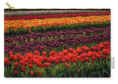 Carry-all Pouch featuring the photograph Springtime Tulips by Susan Candelario