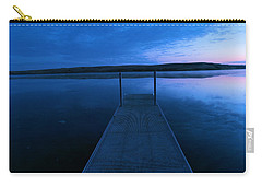 Springbrook Lake At Dawn Carry-all Pouch by Jeff Swan