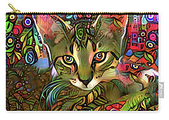 Sprocket The Tabby Kitten Carry-all Pouch