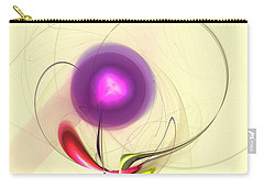 Carry-all Pouch featuring the digital art Sprout by Anastasiya Malakhova