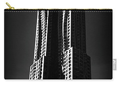 Carry-all Pouch featuring the photograph Spruce Street By Gehry by Jessica Jenney
