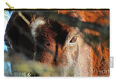 Carry-all Pouch featuring the photograph Spud by Ann E Robson