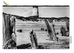 Spurn Point Lighthouse And Groynes Carry-all Pouch