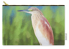Squacco Heron Ardeola Ralloides Carry-all Pouch