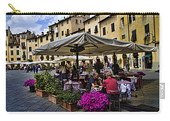 Square Amphitheater In Lucca Italy Carry-all Pouch