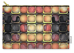 Carry-all Pouch featuring the digital art Square Holes Round Pegs by Wendy J St Christopher