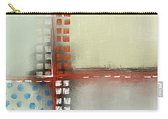 Carry-all Pouch featuring the mixed media Square The Circles by Eduardo Tavares