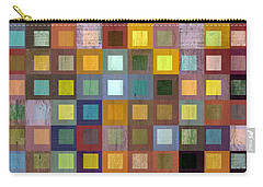 Squares In Squares One Carry-all Pouch by Michelle Calkins