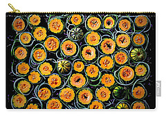 Squash And Zucchini Patters Carry-all Pouch