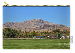 Squaw Butte From Gem Island Sport Complex Carry-all Pouch