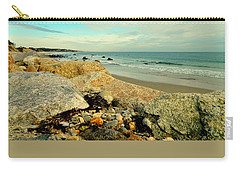Squibby Cliffs And Mackerel Sky Carry-all Pouch