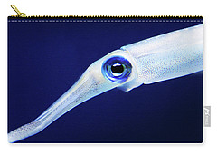 Carry-all Pouch featuring the photograph Squid by Anthony Jones