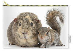 Squirrel And Guinea Carry-all Pouch
