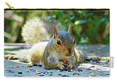 Squirrel Closeup Carry-all Pouch