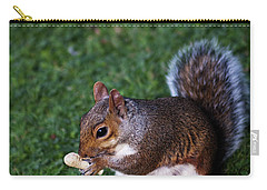 Squirrel Eating Carry-all Pouch