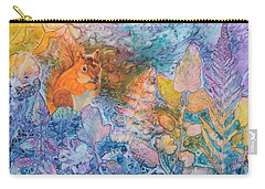 Squirrel Hollow Carry-all Pouch by Nancy Jolley