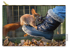 Squirrel On Boot  Carry-all Pouch