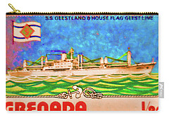 S.s Geestland And House Flag Geest Line Carry-all Pouch