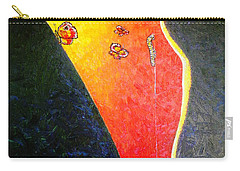 Carry-all Pouch featuring the painting ss1 by Viktor Lazarev
