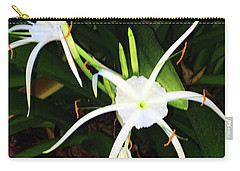 St. A S Spider Flower Couple Carry-all Pouch