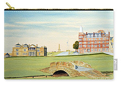 St Andrews Golf Course Scotland Classic View Carry-all Pouch