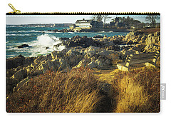 Carry-all Pouch featuring the photograph St. Anne's Church-kennebunk, Maine by Samuel M Purvis III