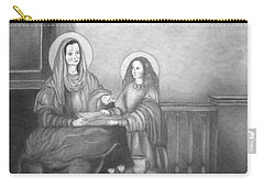 St. Anne And Bvm Carry-all Pouch