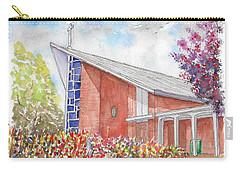 St. Anthony Of Padua Catholic Church, Gardena, California Carry-all Pouch by Carlos G Groppa
