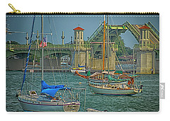 St. Augustine Bridge Of Lions Carry-all Pouch