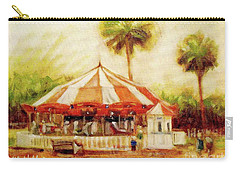 St. Augustine Carousel Carry-all Pouch by Mary Hubley
