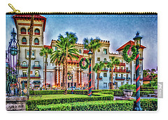 St. Augustine Downtown Christmas Carry-all Pouch