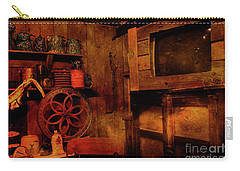 St. Augustine History Museum Carry-all Pouch by Bob Pardue