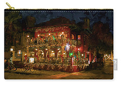 St. Augustine Meehan's Pub Carry-all Pouch by Louis Ferreira