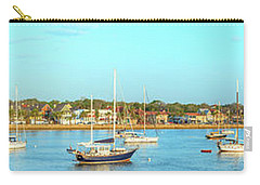 St Augustine Panorama Carry-all Pouch by Sebastian Musial