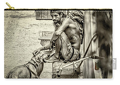 St. Augustine Street Life I Carry-all Pouch