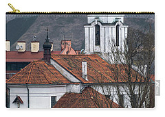 St Bartholomew And Vilnius Castle Carry-all Pouch